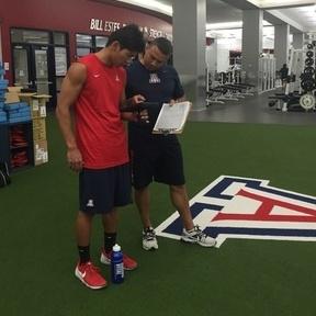 Coaching with technology at Arizona
