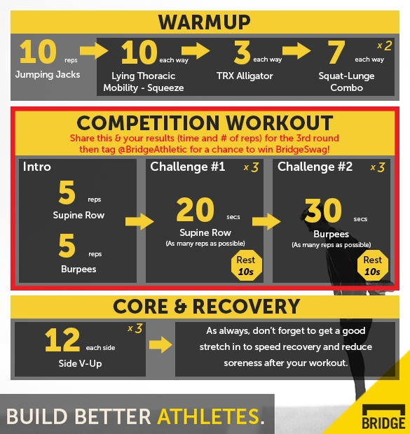 Competition Workout