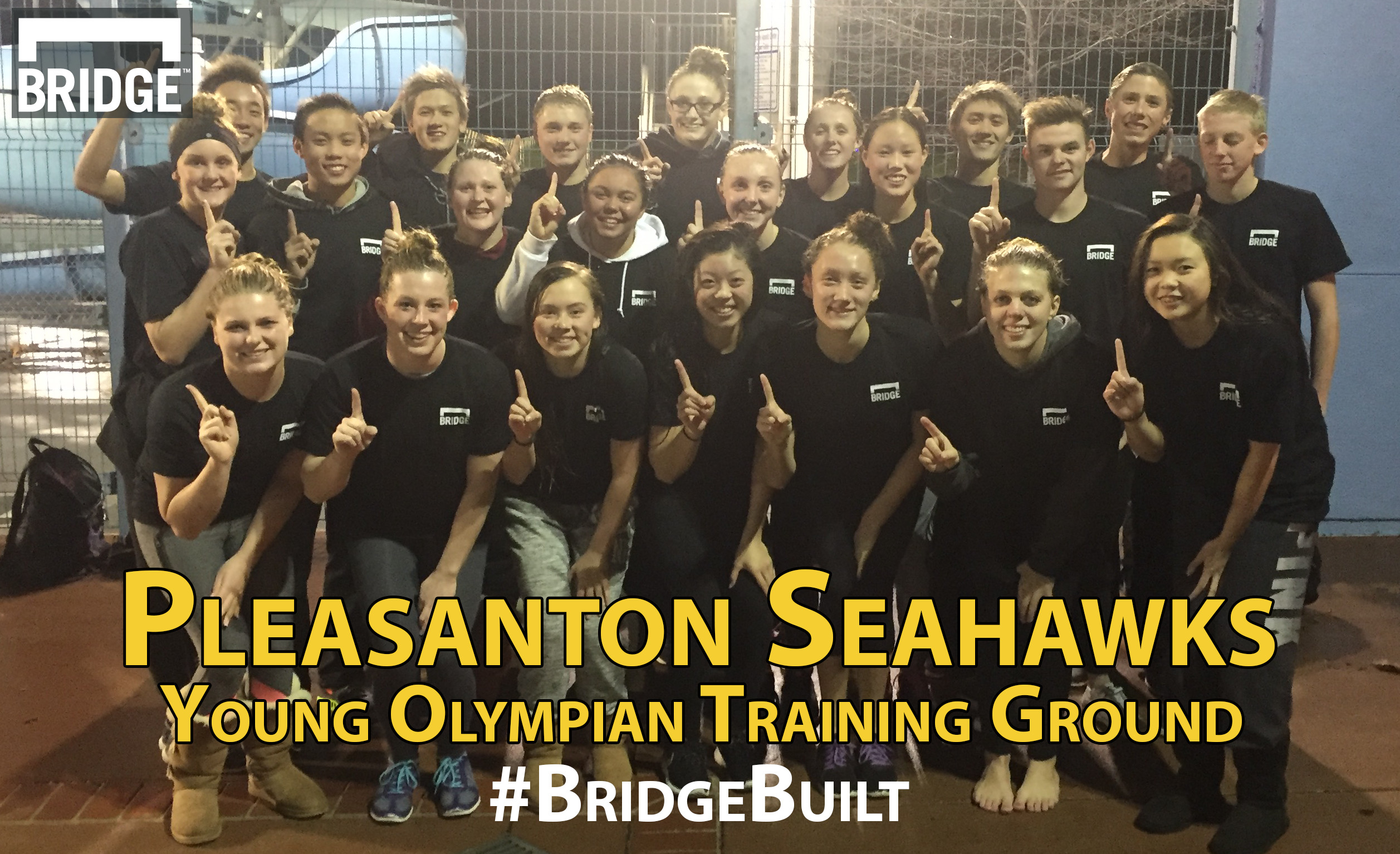 The BridgeBuilt Pleasanton Seahawks