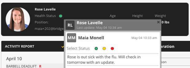 Image #5: Health Status
