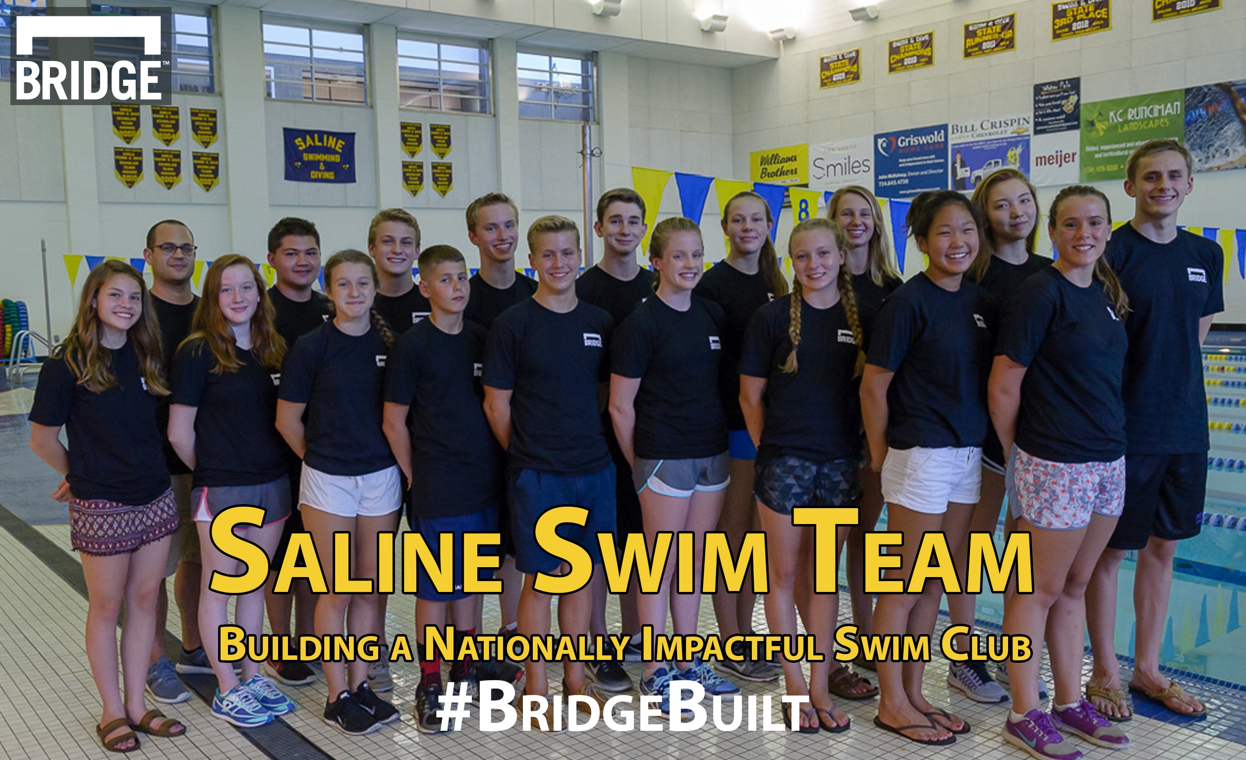 #BridgeBuilt Series: Saline Swim Team