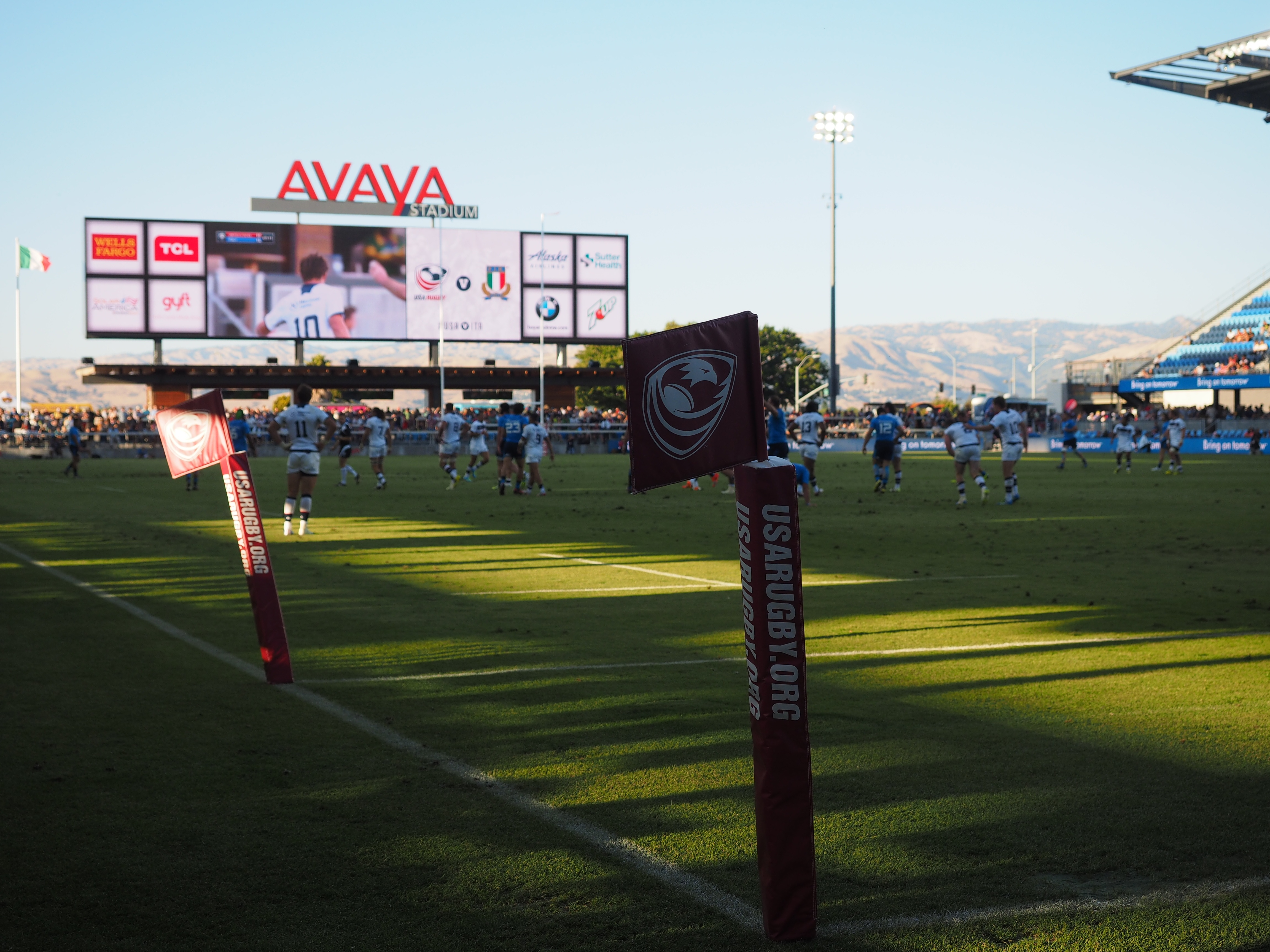 BridgeAthletic Halftime Contest During USA v Italy Rugby Test Match
