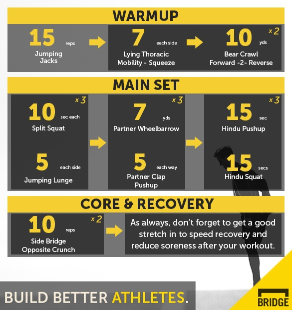 Bodyweight Strength Supersets