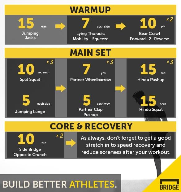 Bodyweight Strength Supersets