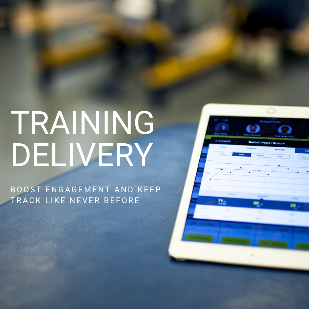Deliver Training on BridgeAthletic