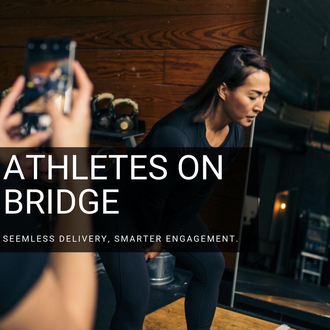 Training athletes with BridgeAthletic