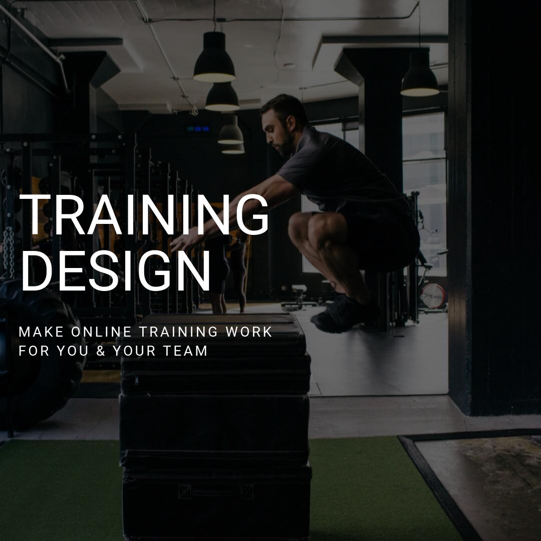 Training Design on BridgeAthletic